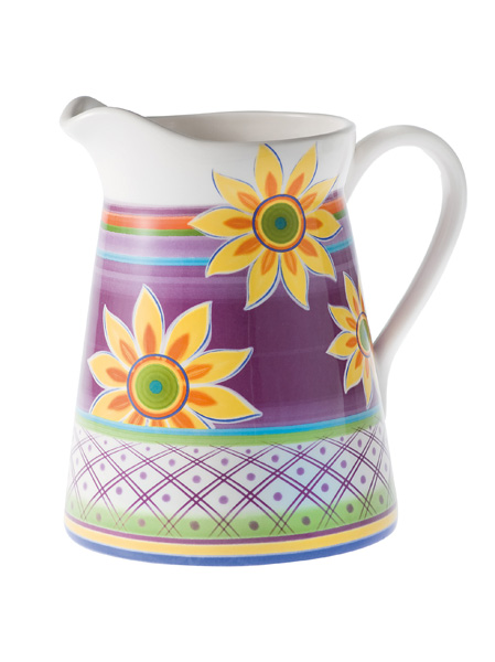 SUNFLOWER JUG IRONSTONE