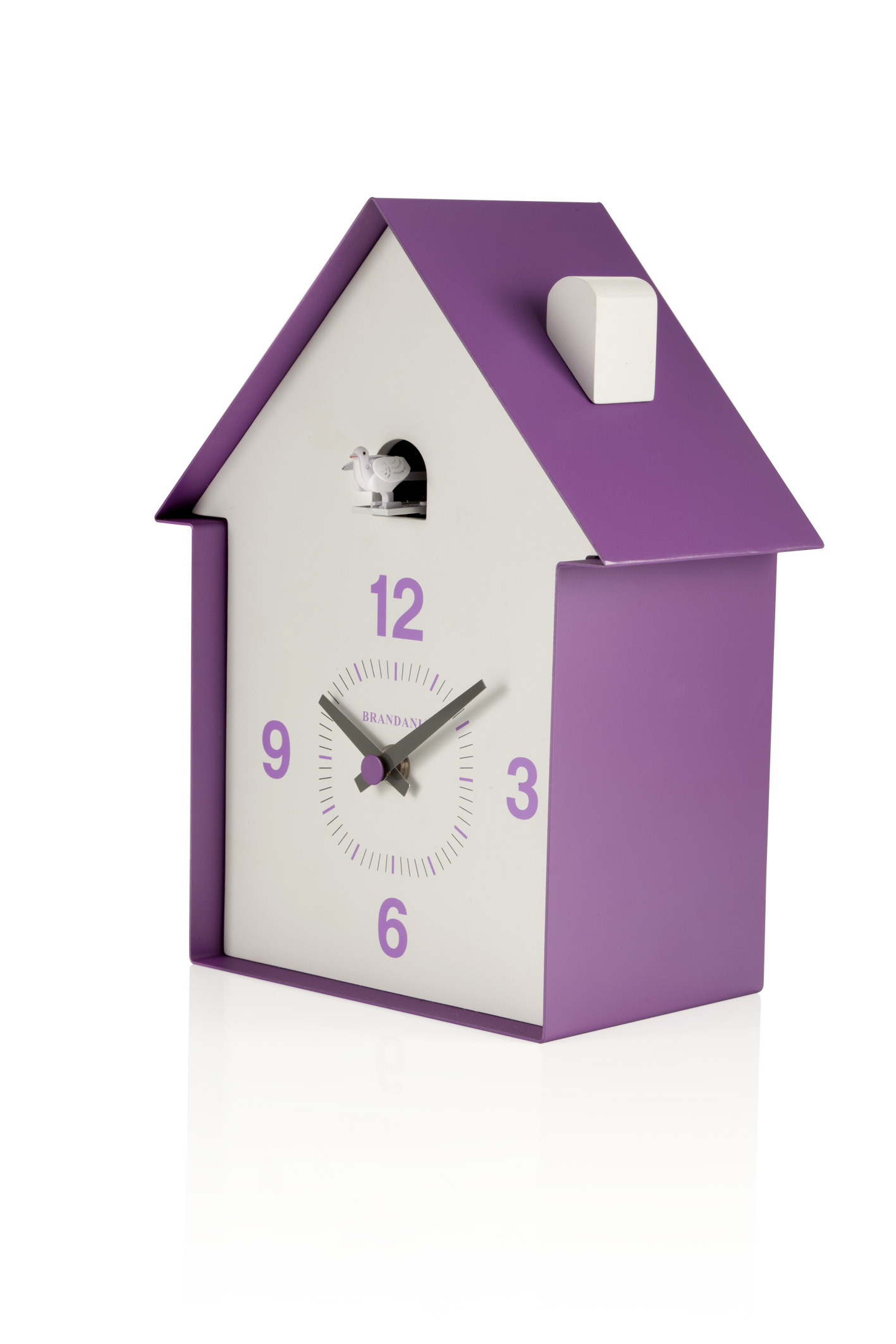 photo of 'Brandani Gift Group: HORLOGE A COUCOU HOUSE LILAS BOIS/METAL'