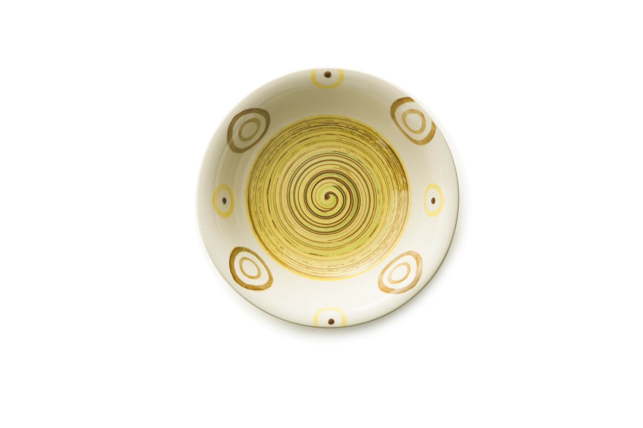 photo of 'Brandani Gift Group: PIATTO FONDO PIPER GIALLO STONEWARE'