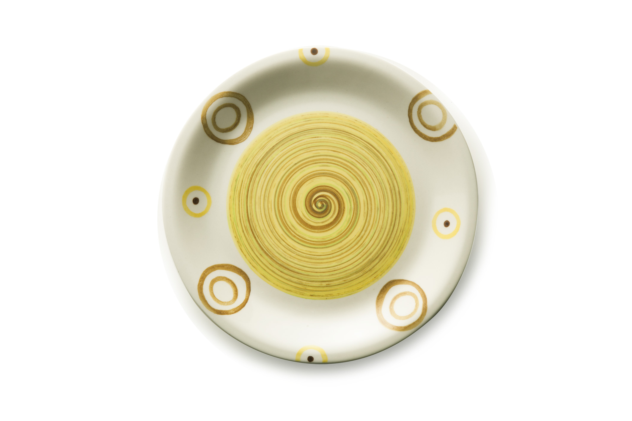 photo of 'Brandani Gift Group: ASSIETTE PLATE PIPER JAUNE STONEWARE'