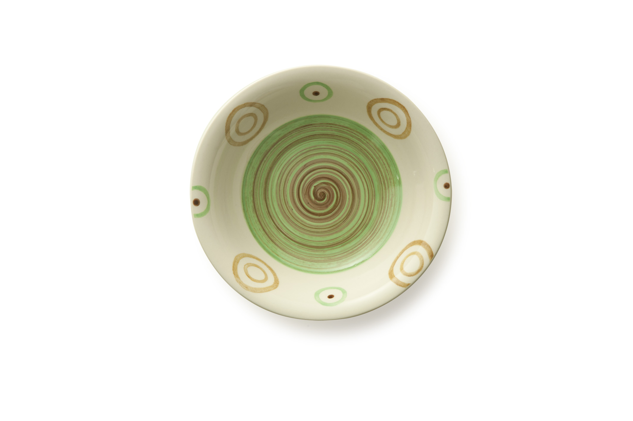 photo of 'Brandani Gift Group: ASSIETTE CREUSE PIPER VERT STONEWARE'