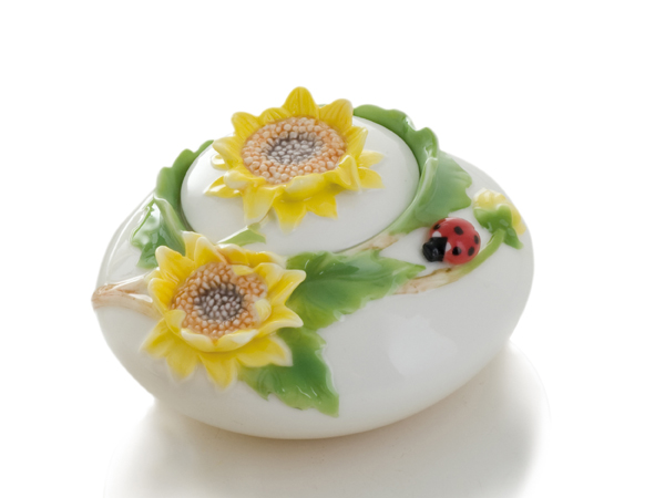 photo of 'Brandani Gift Group: SUNFLOWER PORCELAIN SUGAR BOWL'