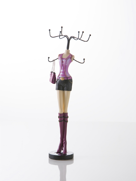 photo of 'Brandani Gift Group: GIRL JEWELERY STAND POLYRESIN'