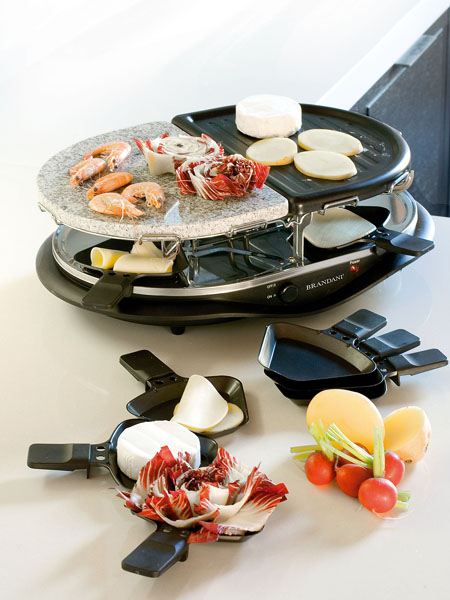 photo of 'Brandani Gift Group: GRILL RACLETTE INOX'